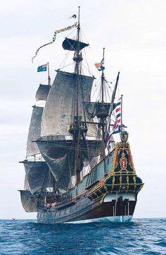 A true piece of art on a ship.
