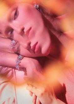 Double Vision   Vogue Japan January 2016 Model: Liza Ostanina Photographer: Greg Lotus