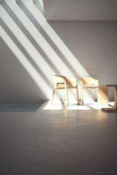 Minimal Caravaggio's light..