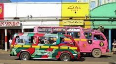 Colorful minibus taxis provides transport for thousands of Nairobians daily, and are a fun way for visitors to immerse themselves in the local culture. Find out what our other top #TravelTips are for visiting #Nairobi and #Mombasa in #Kenya.