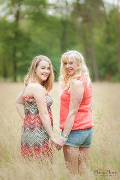 Locatie: de meren Modellen: Romy en Mieke (moeder en dochter)