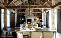 rustic + luxe = perfect