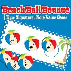 Super fun beach themed game for practicing time signatures. Perfect for summer piano lessons! Preschool Music, Music Activities, Music Games, Piano Games, Piano Lessons, Music Lessons, Music For Kids, Good Music, Piano Teaching