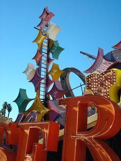 Neon Sign Boneyard Las Vegas