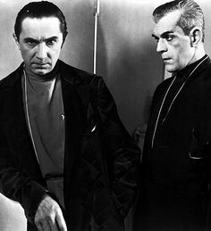 Bela Lugosi & Boris Karloff