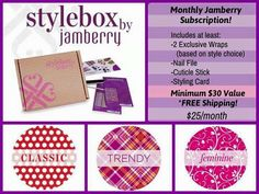 Jamberry StyleBox is truly a special gift for yourself or someone special in your life! Amybrodejams@gmail.com Amybrode@jamberry.com