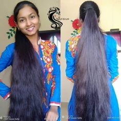 Loose Hairstyles, Indian Hairstyles, Wedding Hairstyles, Desi Girl Image, Girls Image, Long Indian Hair, Ponytail Updo, Crop Hair, Beautiful Long Hair