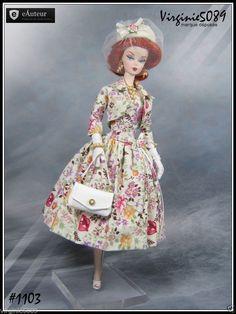 Tenue Outfit Accessoires Pour Barbie Silkstone Vintage Fashion Royalty 1103   eBay