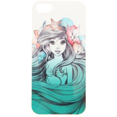 Disney The Little Mermaid iPhone 4/4S Case | Hot Topic ($9.99) ❤ liked on Polyvore featuring accessories, tech accessories, phone cases, phones, phone covers and disney