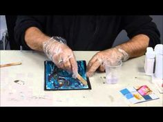 La résine de glaçage sur BeauxArts.fr - YouTube Mix Media, Mixed Media Art, Ice Resin, Art Courses, Clay Projects, Contemporary Art, Arts And Crafts, Collage, Diy