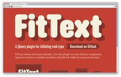 jQuery plugins for awesome web typography