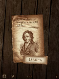 18 March. 365 Catch phrases for iPhone & iPad. Thomas Pain