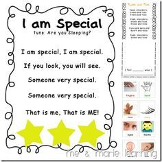 all about me theme for preschoolers | All about Me Preschool Activities http://www.meandmarielearningblog ...