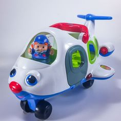 Fisher Price Little People Airplane and Pilot Toys | eBay