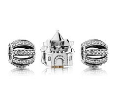 Pandora 'Castle in the Clouds' Charm Set £155.00