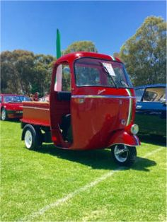 1964 piaggio ape three wheeler. ** serious ** restoration project