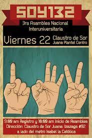 3ra Asamblea Interuniversitaria #YoSoy132