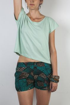 Short Shorts - Emerald Nets