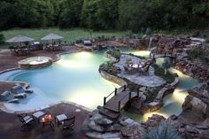 now this is one awesome backyard pool