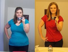 98 pounds -- How she lost 12 dress sizes in 5 months.