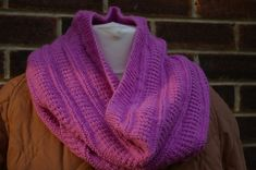 Knitting Pattern Cowl scarf £2.50