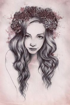 (1) draw girl | Tumblr