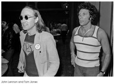 John Lennon & Tom Jones