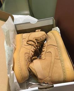 Air Force 1 High Top (tan/suede)❤️