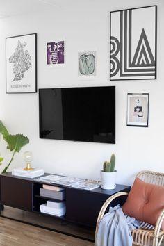 TV de la pared de Niza