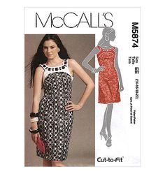 Misses' Lined Dress
