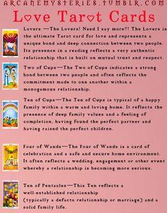 Arcane Mysteries (Love Tarot Cards.)