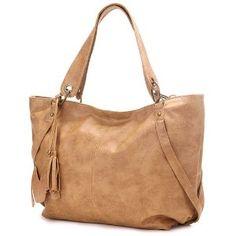 PETRA Beige Weekend Gateway Oversized Soft Leatherette Shopper Tote Hobo Shoulder Bag Satchel Handbag (Apparel)  http://www.amazon.com/dp/B005IHWAFS/?tag=satiyourdesi-20  B005IHWAFS