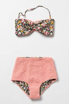 Pinning a lot of bathing suits because I'm planning a trip to Wisconsin Dells. :)  This one rules.