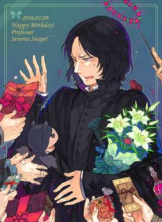Harry Potter, Severus Snape