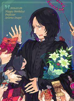 Harry Potter, Severus Snape Hexes aplenty in 3..2..1...