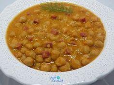 Garbanzos con arroz olla GM.Ana Sevilla Yummy Food, Tasty, Spanish Food, Chana Masala, Cheeseburger Chowder, Crockpot, Slow Cooker, Soup, Vegan