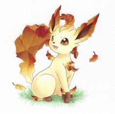 Pumpkin Spice Leafeon 🍂🍁 - Art by rycanine : pokemon Eevee Cute, Pokemon Eeveelutions, Eevee Evolutions, O Pokemon, Pokemon Fan Art, Cute Pokemon Wallpaper, Cute Cartoon Wallpapers, Cute Pokemon Pictures, Cute Pictures