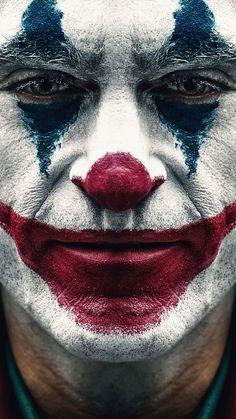 Joker 2019 Joaquin Phoenix Clown Makeup HD Mobile, Smartphone and PC, Desktop. - Joker 2019 Joaquin Phoenix Clown Makeup HD Mobile, Smartphone and PC, Desktop… – Cultura Joker Comic, Le Joker Batman, Joker Film, Der Joker, Joker Art, Joker And Harley, Black Joker, Joker Clown, Joaquin Phoenix