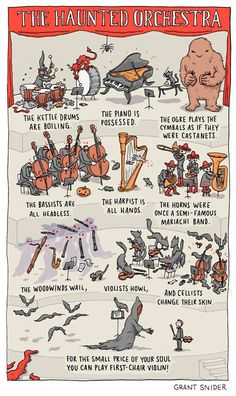 Haunted orchestra