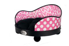 For the Dog:  Pink cheetah pet bed #UPSHappy #NotABox