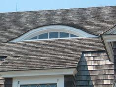eyebrow dormer - Google Search Dormer Roof, Dormer Windows, Bay Window Exterior, Portland House, Slate Roof, Bedroom Loft, Small House Design, Coastal Homes, Maine House