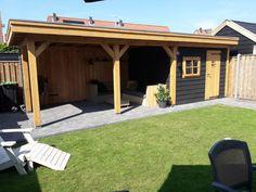 Back Garden Design, Patio, Back Gardens, Stables, Garden Inspiration, Diy Home Decor, Pergola, Sweet Home, New Homes