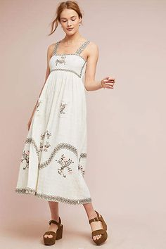 012fd101d42 Steele Barlett Embroidered Dress Floral Embroidery