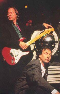David Gilmour, Nick Mason   Pink Floyd