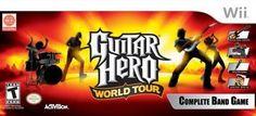 Wii Guitar Hero World Tour Band Kit