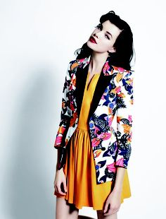 floral and colour