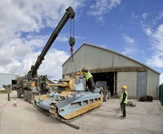 MATILDA DIARIES Part 2 – Follow the renovation of this historic Second World War tank