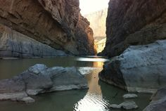Kayak the Rio Grande in Big Bend National Park, Texas, USA. #travel #bucketlist