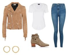 """""""Sin título #5"""" by so18 ❤ liked on Polyvore featuring Yves Saint Laurent and Topshop"""