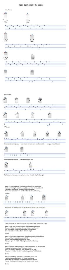 Under The Boardwalk | Ukulele Tabs | Pinterest | The O'jays